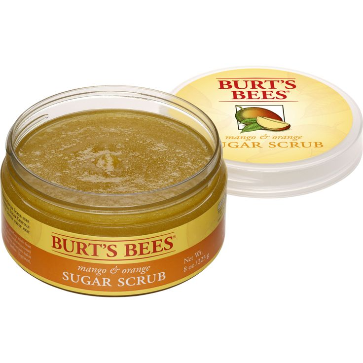 Mango & Orange Sugar Scrub - Burt's Bees | For your skin | Pinterest