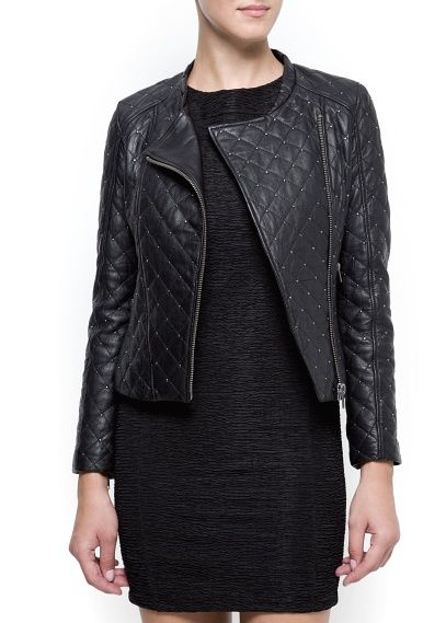 Quilted leather perfecto | TRENDS , Tendencias | Pinterest