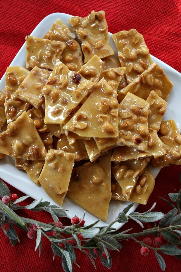Peanut Brittle! I've always wanted to make it...and this recipe looks ...