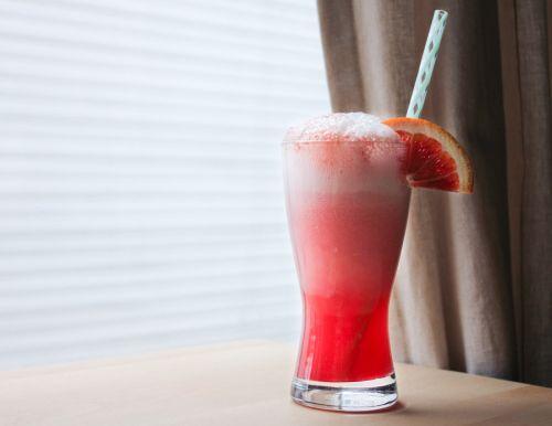 Blood orange float   Beverages   Pinterest