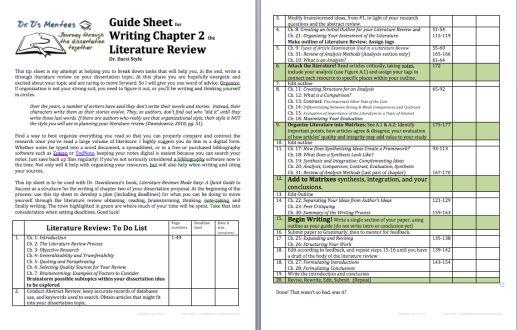 How To Write A Dissertation Prospectus