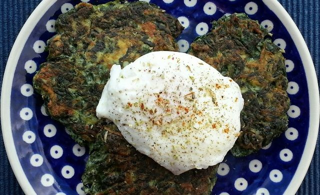 Spinach & Ricotta Fritters (with Poached Egg) - The Bittersweet ...