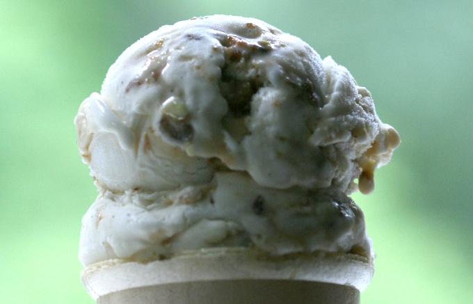 pistachio brittle gelato recipe | Gelato & Ice Cream | Pinterest