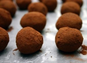 Raw Chocolate Chili Truffles | Food | Pinterest