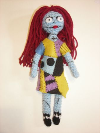 Crochet Patterns Nightmare Before Christmas : ... by Sarah Chappell on Amigurumi and Other Crochet Projects Pinte