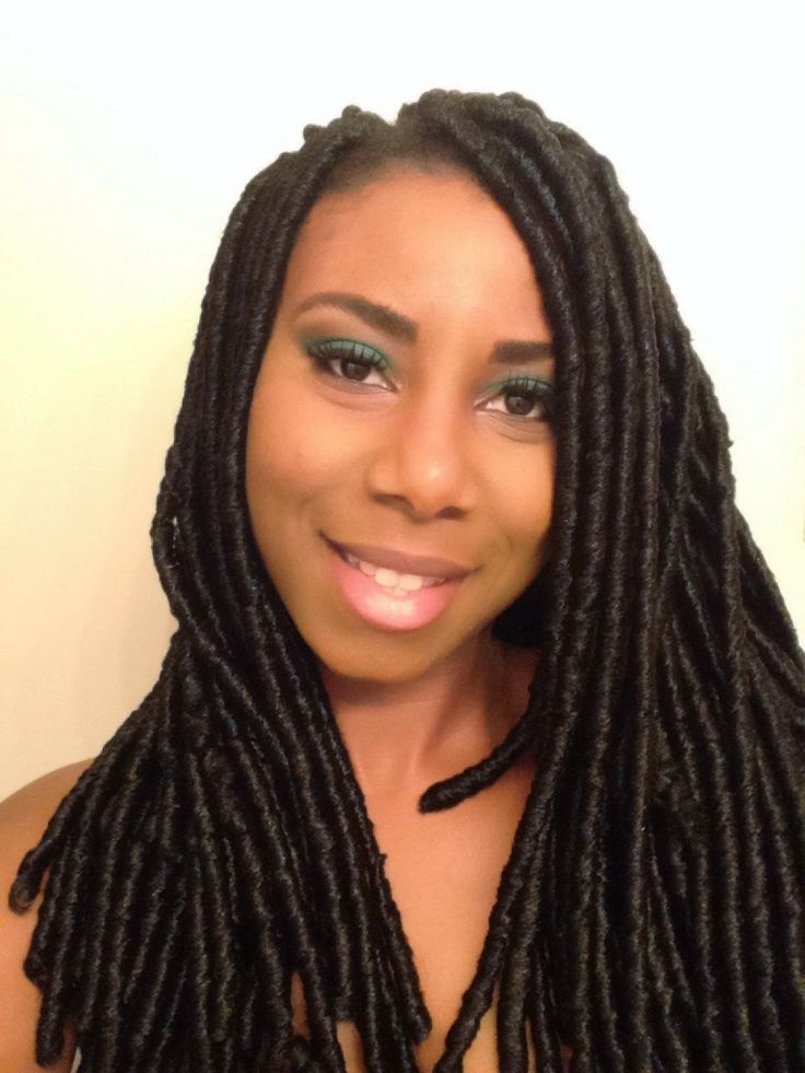 Crochet Hair Faux Locs : Crochet Faux Locs...Natural Hair. Faux Loc