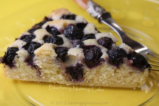 Blueberry Nutmeg Cake from Cheryl Sternman Rule's Ripe cookbook mmm