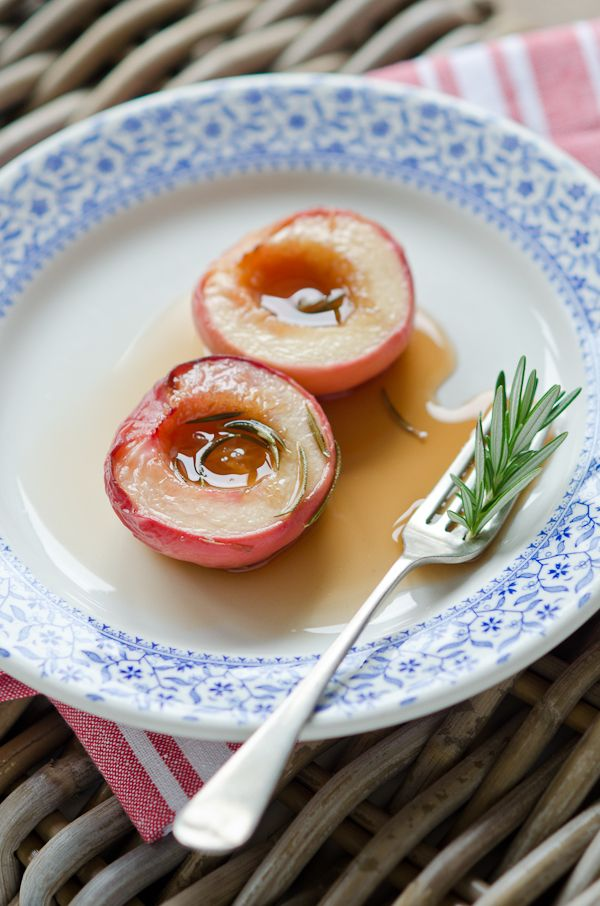White Peach Tartelettes With Rosemary Sugar Recipes — Dishmaps