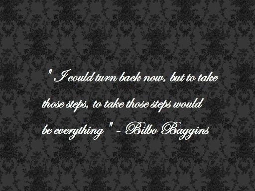 Bilbo Quotes. QuotesGram