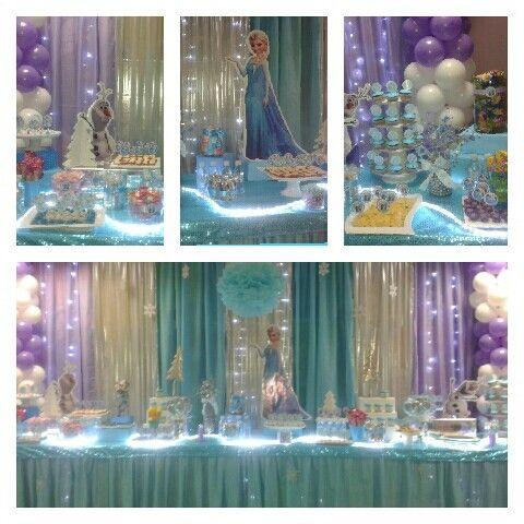 Frozen Party Decoration Fiesta Frozen Pinterest