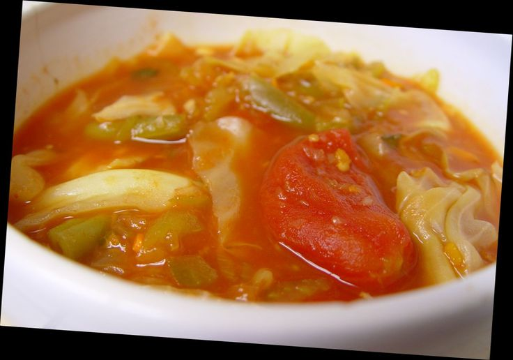 Fat Burner Soup - Vegetarian - Gluten Free - made in Slow Cooker - I do a stove top  version of this and it is delicious - gotta try with crockpot