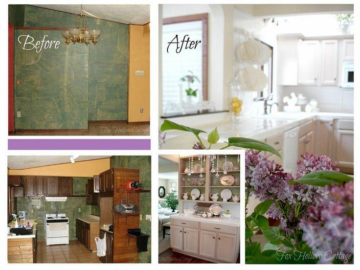 Cottage Kitchen Makeover Budget DIY Style