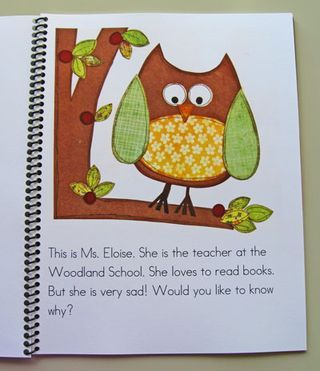 Book Owl book teaches children to look after books