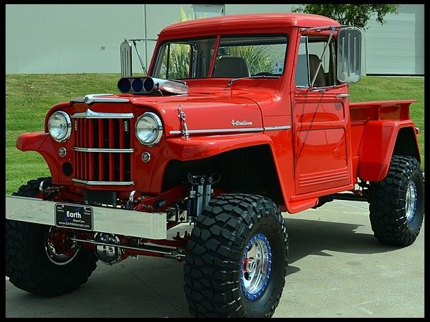Gmc Truck For Sale >> 1955 Willys Pickup | Autos clasicos | Pinterest