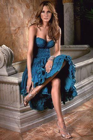 The Gorgeous Melania Trump