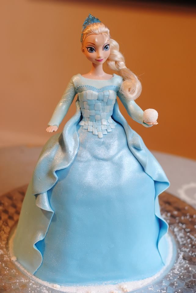 Frozen Birthday Cake, Leitz Delights