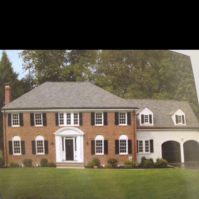 dream house colonial amp brick dream house pinterest