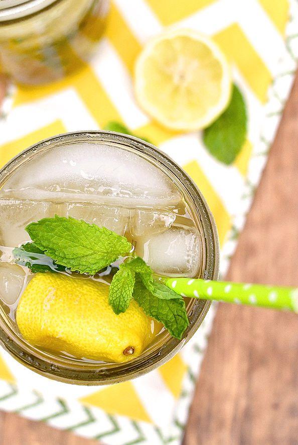 Sweet Tea Vodka Lemonade Mojitos are the ultimate in refreshing summer ...
