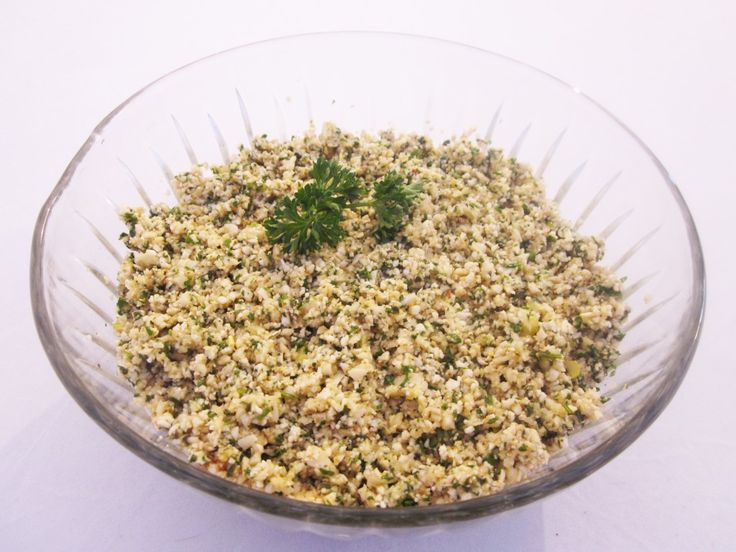 Herbed Couscous Recipe with Cauliflower Couscous