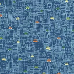 Michael Miller House Designer - Kids - Honk Honk in Aqua