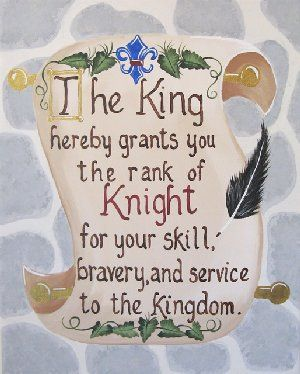 bedroom | Knight Scroll Giclee Wall Art - The Frog and the Princess