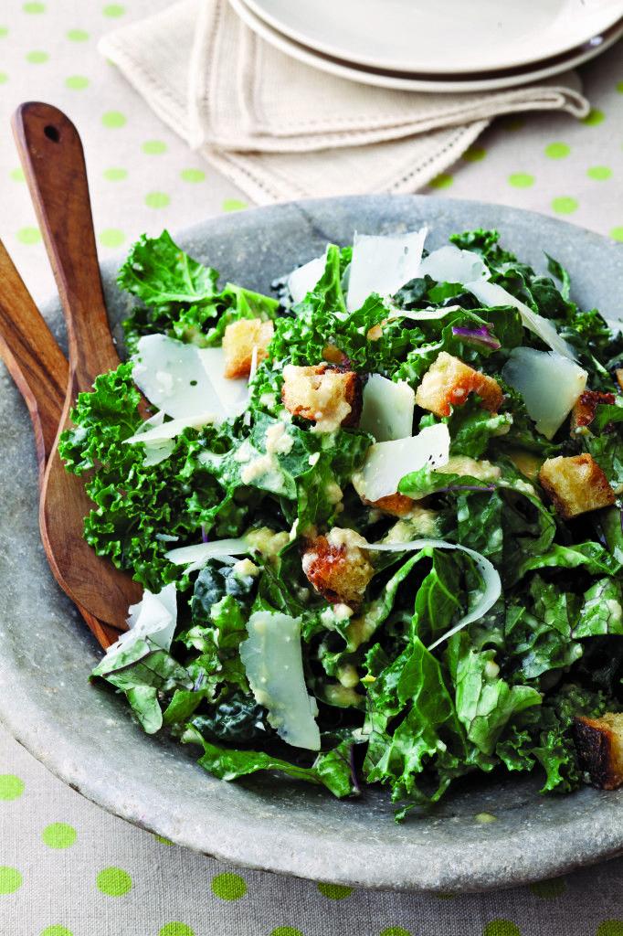 Kale Caesar Salad | Dishes/Recipes | Pinterest