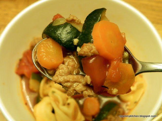 Italian Sausage Tortellini Soup | Recipes | Pinterest