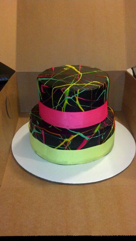 How Do You Splatter Paint A Cake