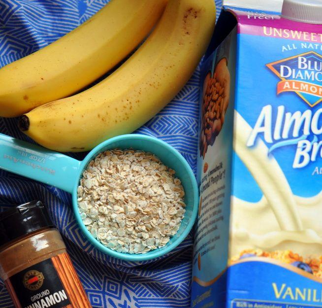 banana bread protein shake. | fitness | Pinterest