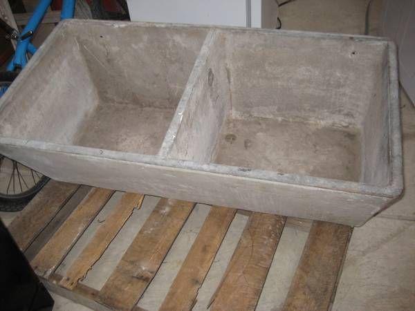 700 Victorian farmhouse concrete laundry/utility sink on Craigslist ...