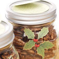 Spiced Maple-Glazed Pecans   Food   Pinterest
