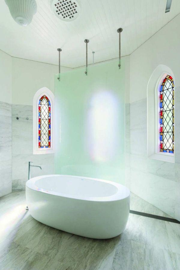 Church bathroom interior and exterior design pinterest for Church bathroom designs