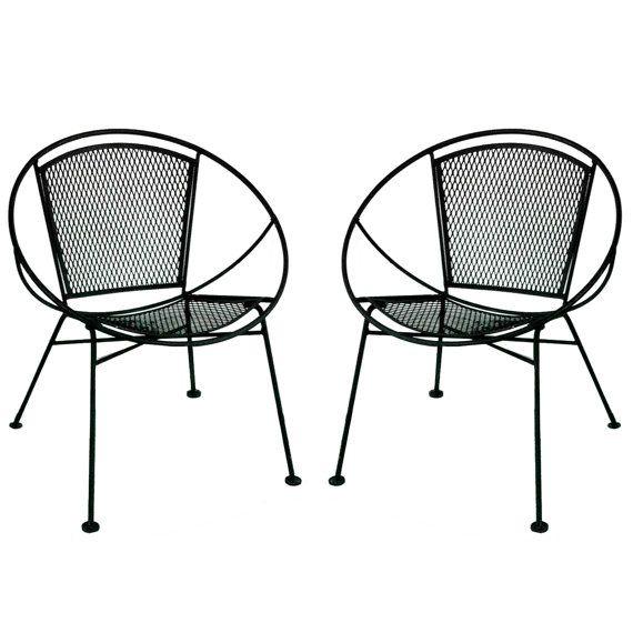 Century Patio Furniture : Mid Century Wrought Iron Patio Furniture  Trend Home Design And Decor