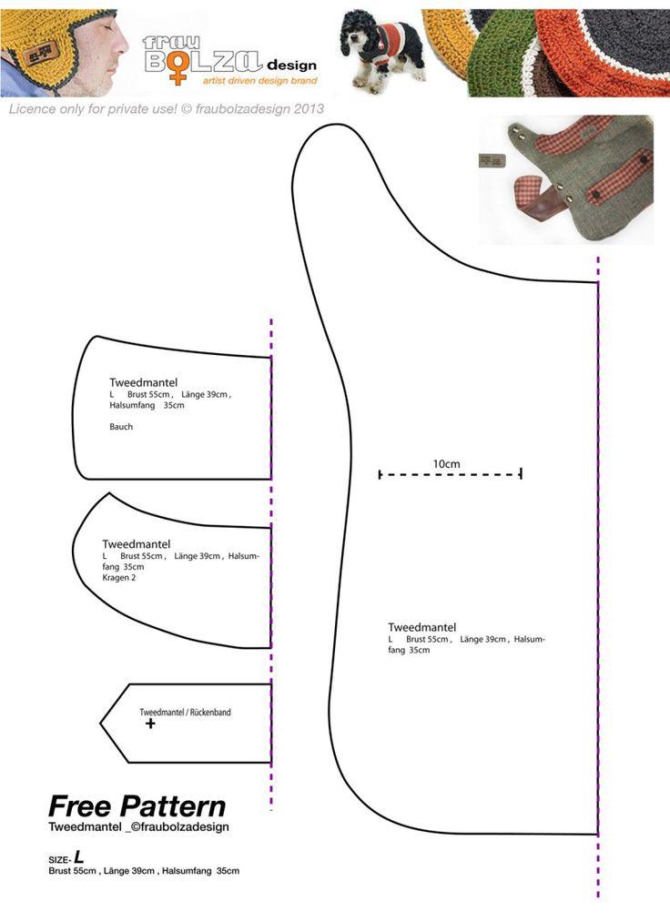 Free Printable Dog Clothes Sewing Patterns -|- nemetas.aufgegabelt.info