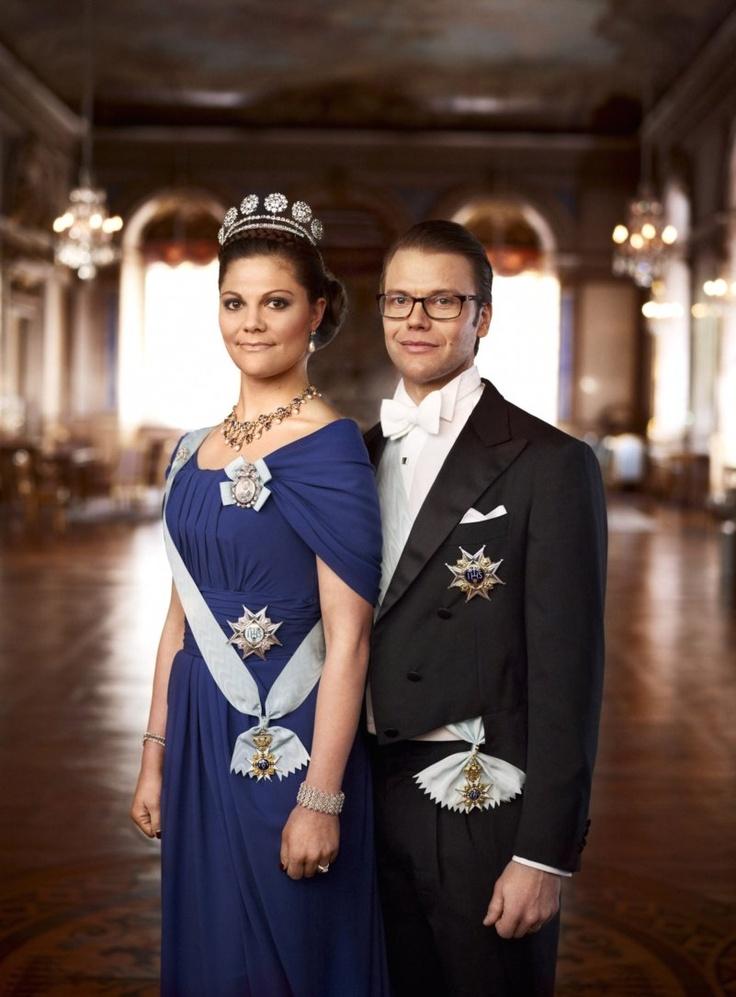 Victoria and Daniel of Sweden. | Royals | Pinterest