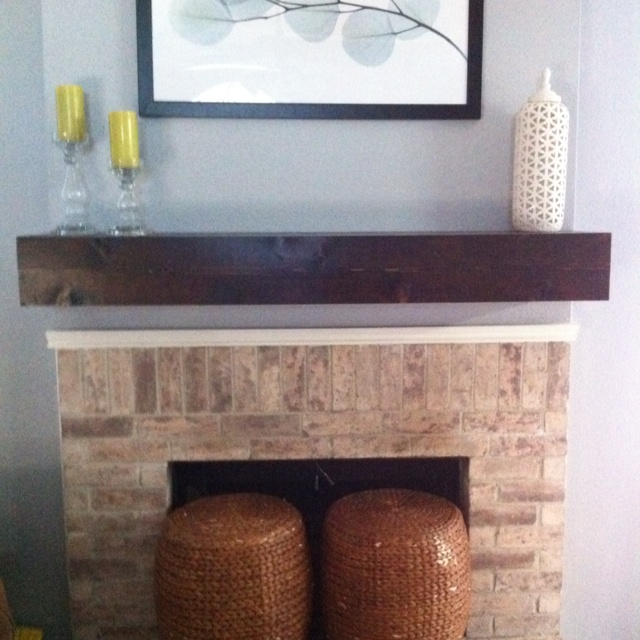 Diy Wood Mantel Shelf Freedownload