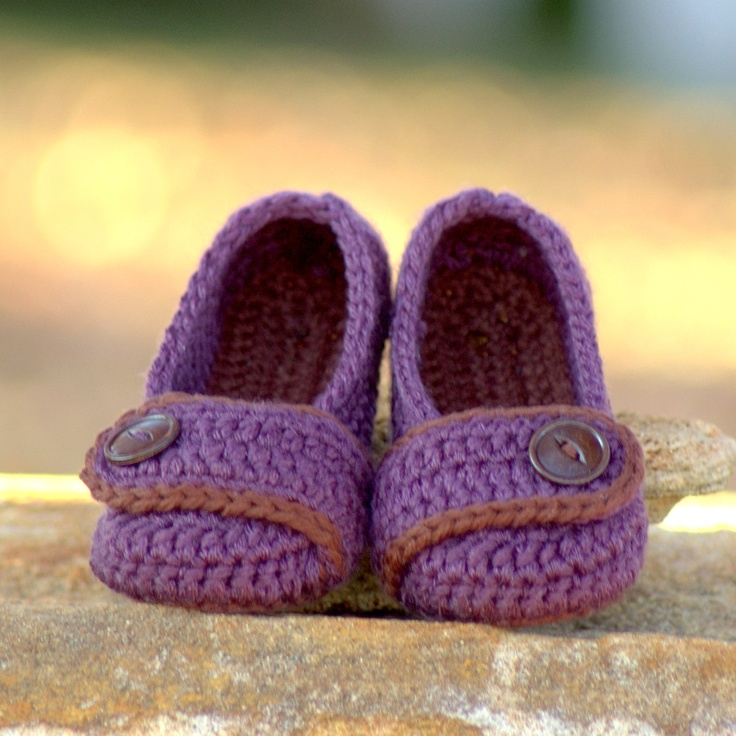 Toddler Crochet Pattern for Valerie Slipper - Childrens ...