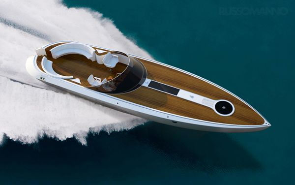 Dartline Powerboat by Pietro Russomanno