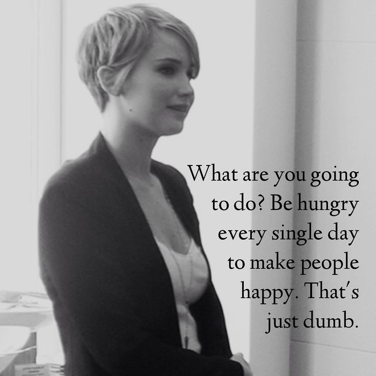 Jennifer Lawrence - love her Quotes and Sayings Pinterest