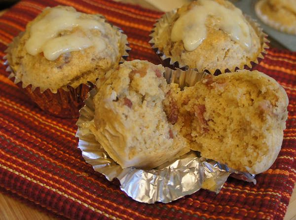 Bacon Cheese Rye Muffins | Grain Mills and recipes | Pinterest