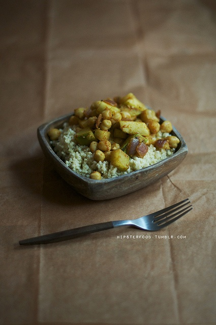 cumin chickpeas & couscous // via chickpea magazine, via hipsterfood ...