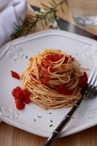 Spicy Rosemary Spaghetti   recipes to try: main dishes   Pinterest