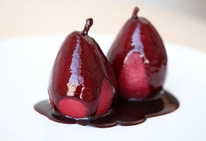 Red wine poached pears | Fabulous food | Pinterest