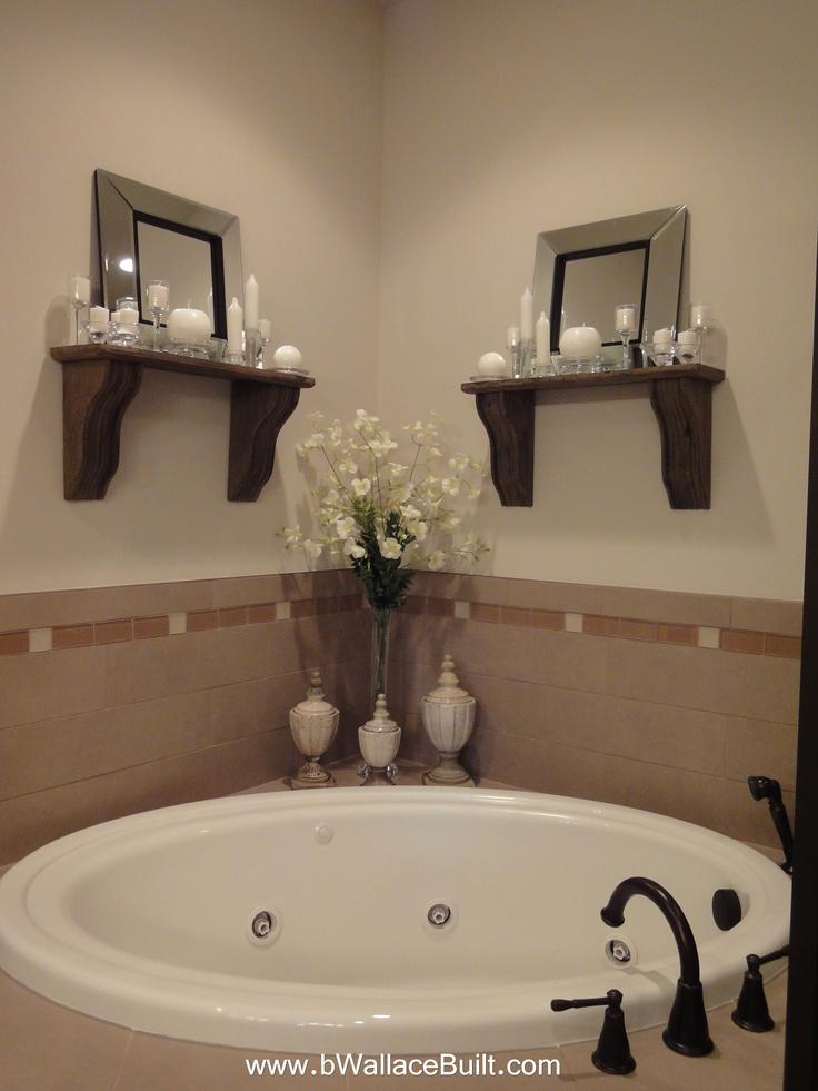 Large corner tub in the master bathroom bathroom ideas for Bathroom jacuzzi decor