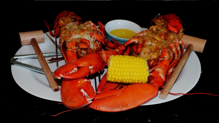 Baked Stuffed Lobster | AAA Moms Main Course Dinner Time Pleasers an ...