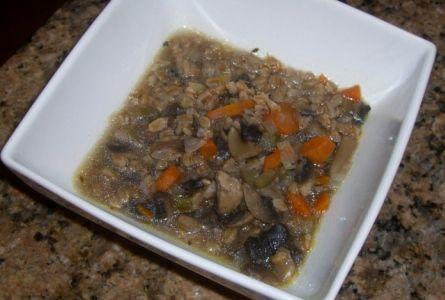 Nutritious Life: mushroom farro soup | yummies | Pinterest