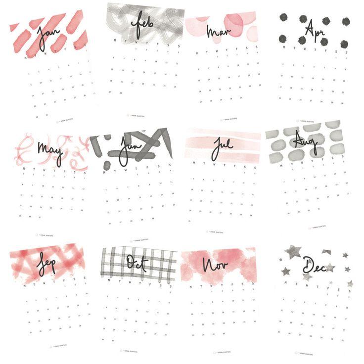 25+ unique Calendar 2018 ideas on Pinterest | 2018 printable ...