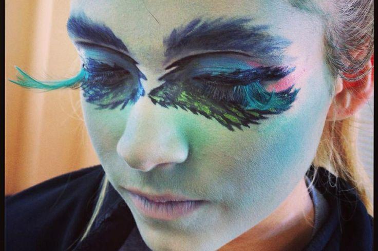 Peacock Fantasy Makeup Peacock Fantasy Makeup