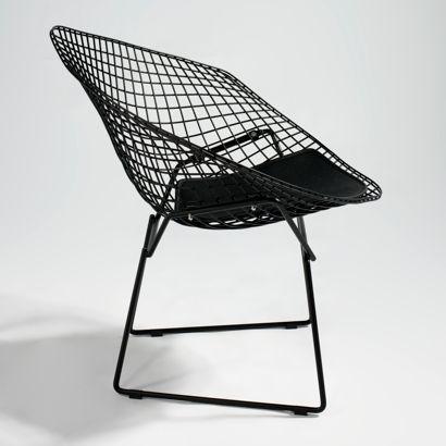 Replica bertoia diamond lounge chair spaces pinterest