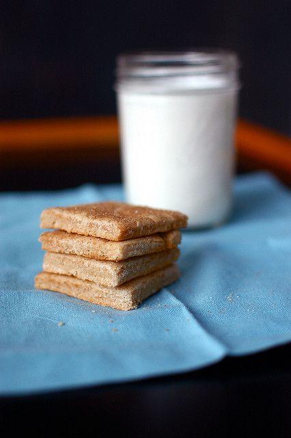 gluten-free graham crackers | Gluten Free | Pinterest
